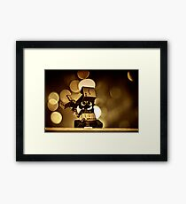 Wall-E fights back! Framed Print