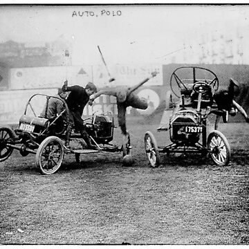 Auto Polo. Polo with cars, Funny Vintage. by rolphenstien