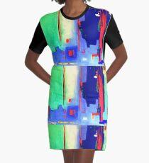 Aqua Island Graphic T-Shirt Dress