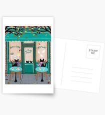 Le Petit Chat Cafe Postcards