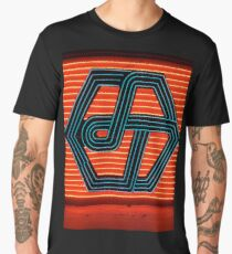 Cool Red Neon Men's Premium T-Shirt
