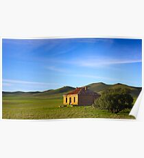 Farmhouse at Burra South Australia Poster