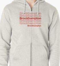 Brockhampton  Zipped Hoodie