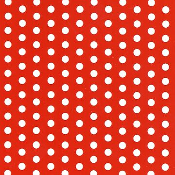 Red with White Polka Dots - Fashion Classic by ExpressingSelf