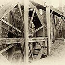 Upper Yarra Water Wheel by Joel McDonald