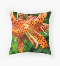 Spotted Lily Throw Pillow