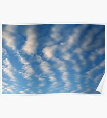 Bony Clouds Poster