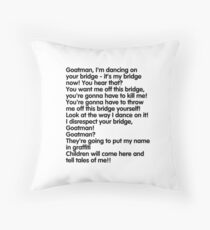 Goatman!!!!!!! Throw Pillow