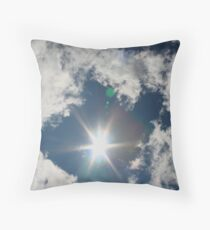 Sun Surround Throw Pillow