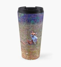 red little foxy Travel Mug