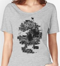 Skull Max/MSP patch Nº1 Women's Relaxed Fit T-Shirt