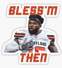 Jarvis Landry Bless m Then Quote Sticker db8f6f7aa