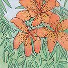 Fire Lilies by Linda Ursin