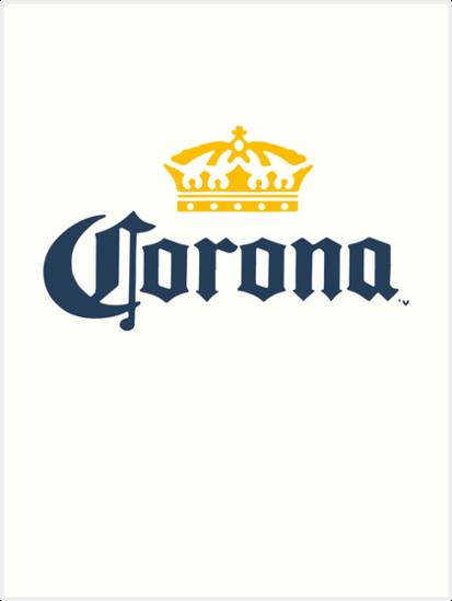 ec7d53c8da34 «Cerveza Corona Extra Men s Logo Blanco Elige tu talla Mediana cerveza  Camisetas» de BethPoe12