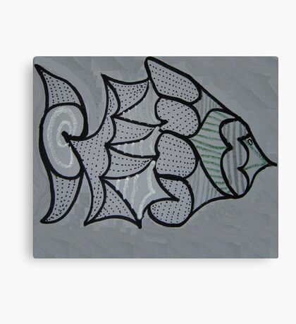 Mystery Fish Canvas Print