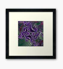 D1G1TAL-M00DZ ~ GALLIMAUFRY ~ Grapevine by tasmanianartist Framed Print