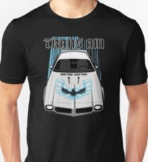 cd691be0 Firebird Trans am 73 -White and Blue Unisex T-Shirt