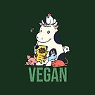 Pug and Friends Vegan by Huebucket