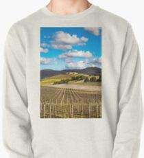 Winery in winter Pullover Sweatshirt