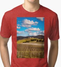 Winery in winter Tri-blend T-Shirt