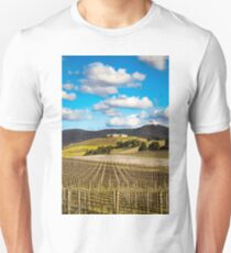Winery in winter Slim Fit T-Shirt