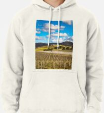 Winery in winter Pullover Hoodie