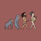 The Evolution Of Man by Huebucket