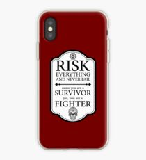 Risk everything iPhone Case