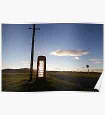 Tiree - Phone Home Poster