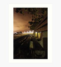 Hayling Bridge Art Print
