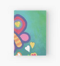 Flying Butterfly Hardcover Journal