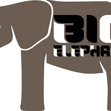 BIG ELEPHANT by EARNESTDESIGNS