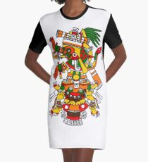 Tlalchi Tonatiuh T-Shirt Kleid