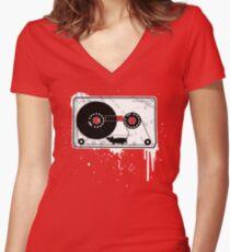 Ka'set Maus Women's Fitted V-Neck T-Shirt