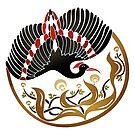 Art Nouveau Bird by FosterChild7