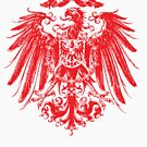 A coat of arms with an eagle by markdalderup