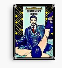 Gentlemen's Lounge  Canvas Print