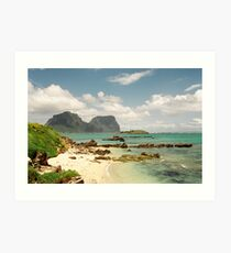 Lord Howe Island Series 5 Art Print