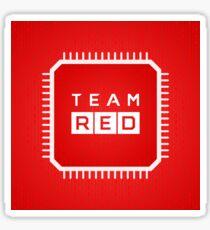 Team Red Sticker