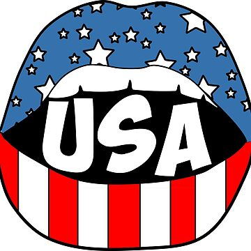 USA Lips by stickybad