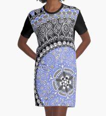 Mandala 1 Graphic T-Shirt Dress