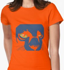 Black Panther Dark T-Shirt Womens Fitted T-Shirt