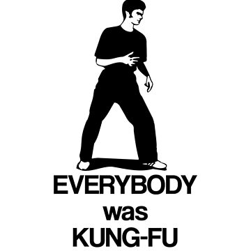 Surely not everybody was kung-fu fighting by Tazka