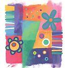 Flowers Patchwork by Christine Jopling