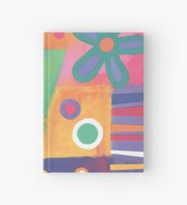 Flowers Patchwork Hardcover Journal