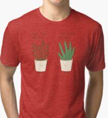 garden etiquette Tri-blend T-Shirt