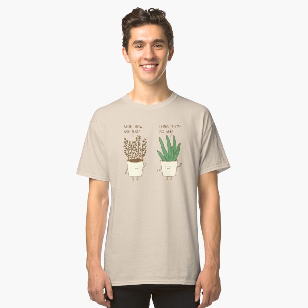 etiqueta de jardín Camiseta clásica