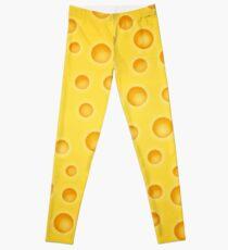 6d472823b0d01a Swiss Cheese Cheezy Texture Pattern Leggings