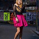 Pink skirt by Stephen Colquitt