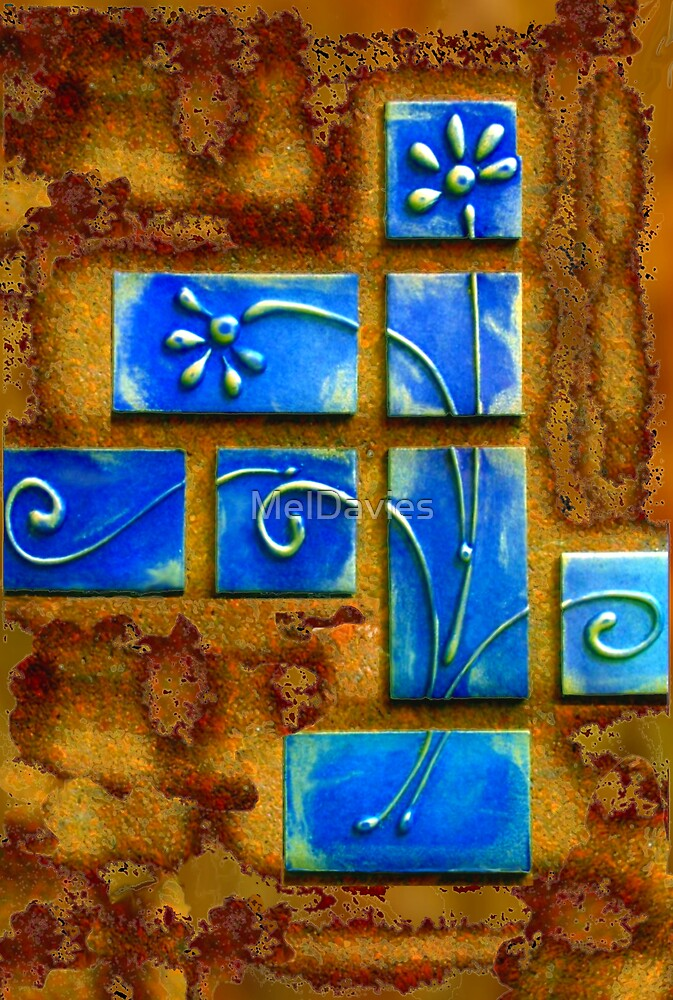 Blue Wafers by MelDavies